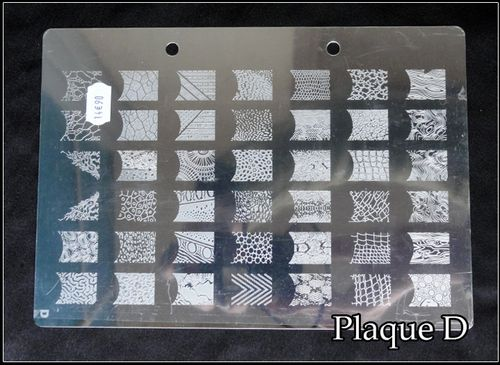 Plaque XL Stamping D