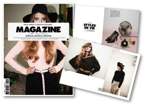 fashion ballyhoo - 1 Maria Luisa style Magazine lookbook