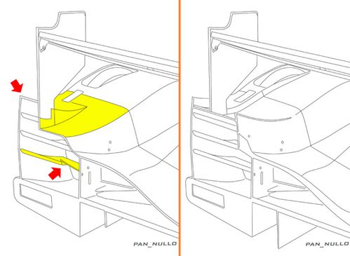 oreca 03 end Rear LMtest Low
