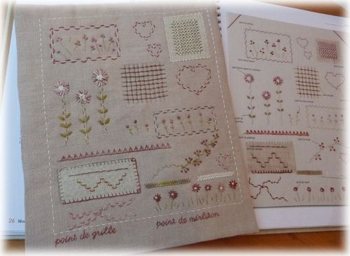 cahier broderie III a 1