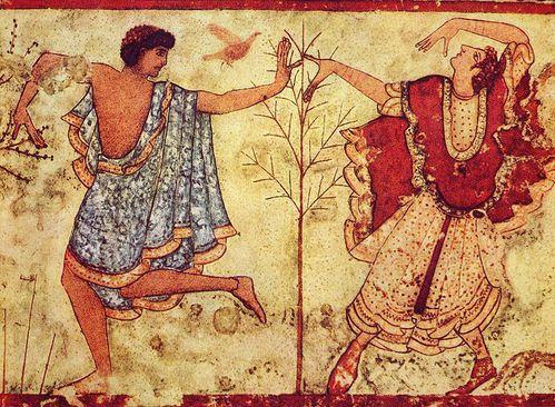 etrusque danse