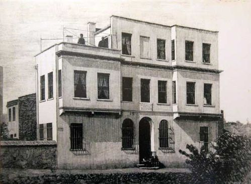 878c2 maison de Mickiewicz à Constantinople (photo ancienn
