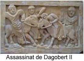 Dagobert II assassinat