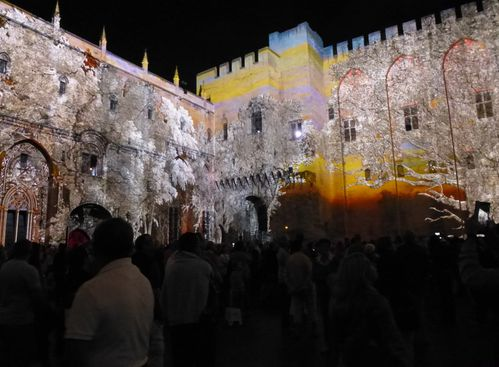 Les luminissences. Avignon. Le palais des Papes. 2-copie-15