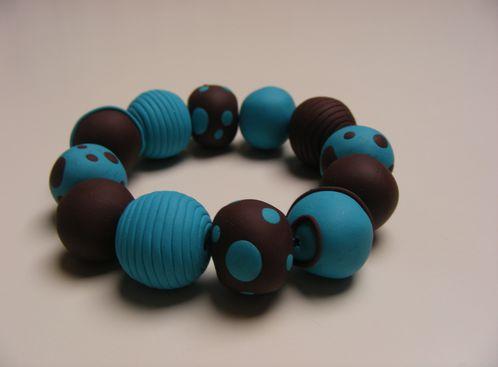 Bracelet choco-menthe