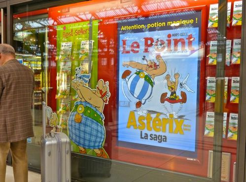 affiche Astérix sage Le Point