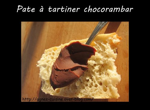 pate a tartiner chocorambar
