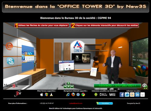tutorial office tower new3s bureau3d 2
