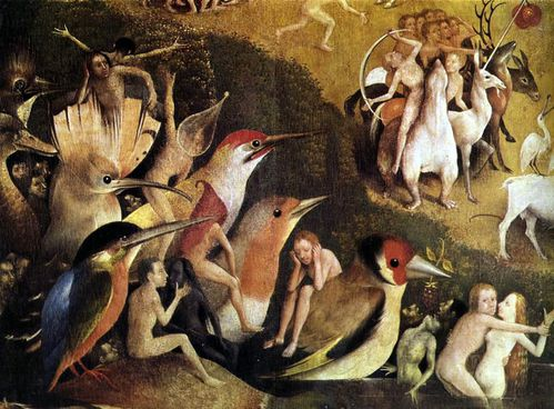 jerome bosch hieronymus garden of earthly delights tryptich
