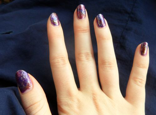ongles galactiques