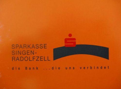 Main-bleue-Calendrier 2001;Sparkasse Radolfzell
