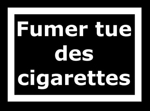 Fumer tue3