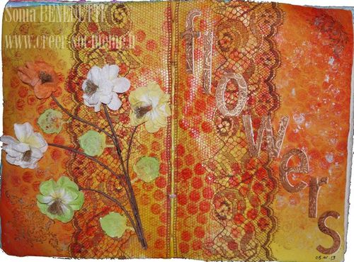 journal art sonia 05-01-13 - flowers