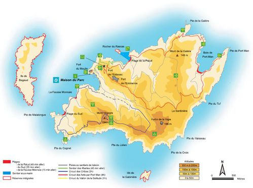 carte port cros