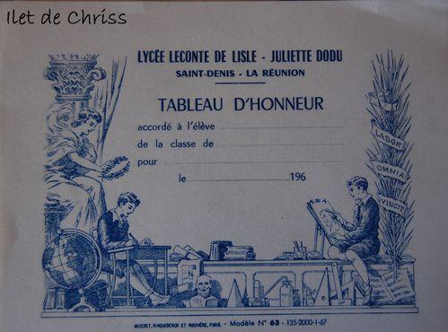 TABLEAU D HONNEUR IDC
