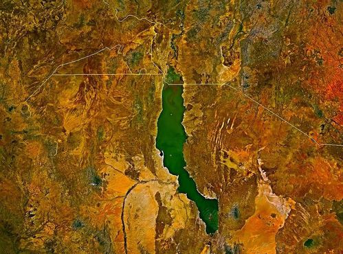 -Lake turkana satellite