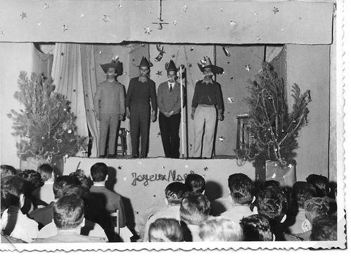 Gambetta 1961- Fête de Noel- Chansons mimées