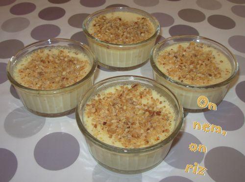 Crèmes vapeur à la vanille1