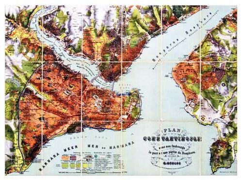 863b5 Plan de Constantinople en 1882