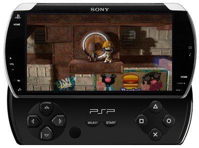 PSP Go rendering