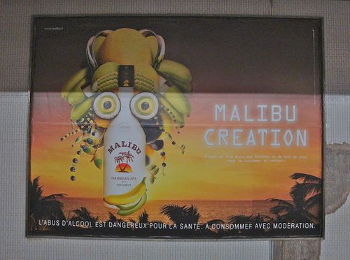 Caribbean creation Malibu affiche 2