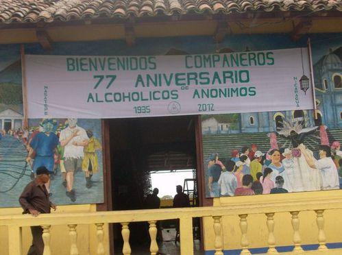 NICARAGUA 27a 2012