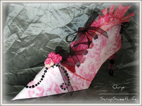 Chaussures et corset glamour (6)