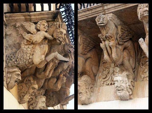 599j1 Scicli, palazzo Fava (18e siècle)