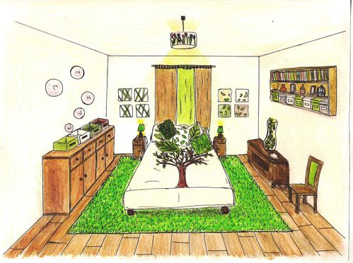 Des planche des ambiances cr ations very d co very d co le blog very tendance for Chambre ambiance nature
