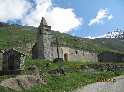 Eglise du hameau d'Avérole.