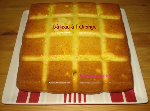 Gâteau à l'Orange 6