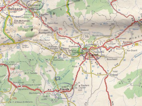 1959-029- Région de TIARET et FRENDA.