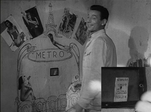 Metro - Ticket - le salaire de la peur
