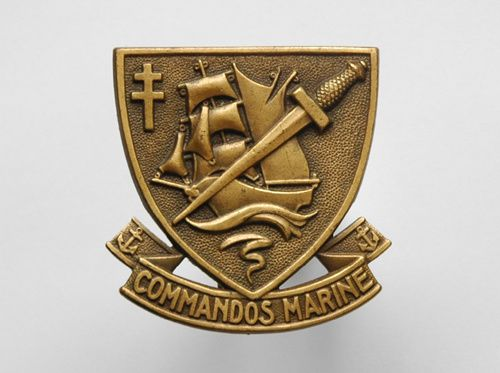 Insigne Commando de Marine