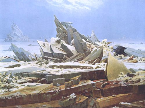 Caspar David Friedrich La Mer de glaces