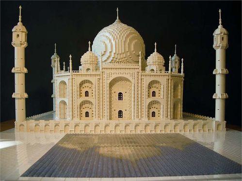 Lego-Taj Mahal
