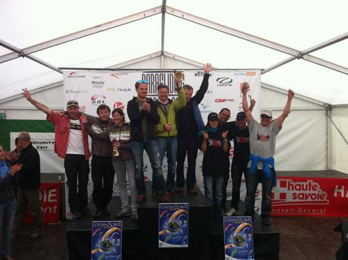 Podium team World Cup