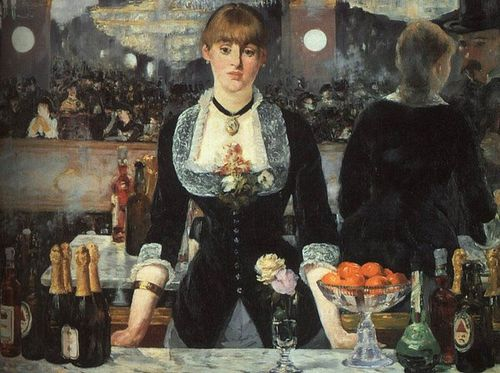 5 Manet 1882 Un bar aux Folies begères The Courtauld Galle