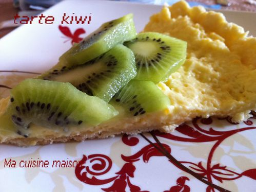 tarte au kiwi sur reste entremet le blog de. Black Bedroom Furniture Sets. Home Design Ideas