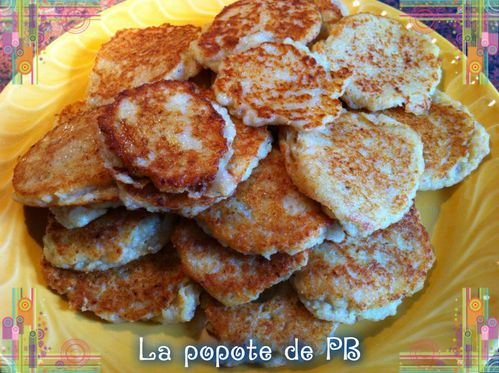 galettes de pommes de terre au thermomix popote de petit bohnium. Black Bedroom Furniture Sets. Home Design Ideas