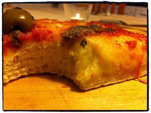 - Pizza maison, mmmmh que c'est bon ! -
