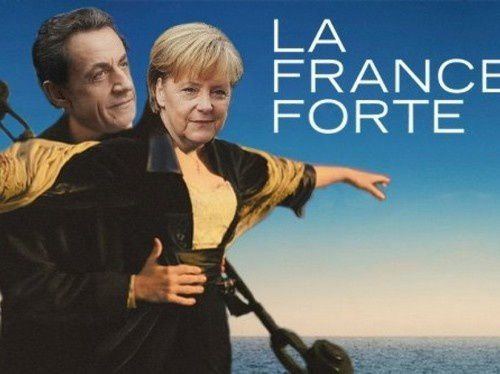 sarkozy affiche france forte sarkostique 4