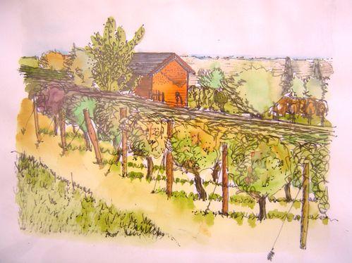 Petite maison de vigne, Sancerrois