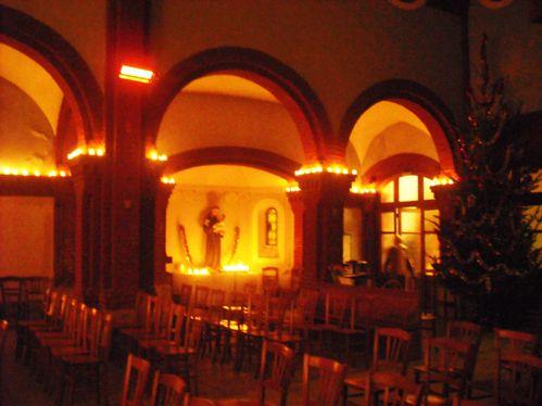 Messe de Minuit à la chapelle Saint-Antoine des Papillons
