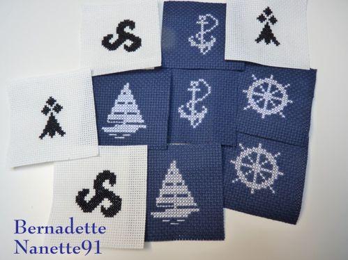 Badges SNSM-Nanette-Mamigoz