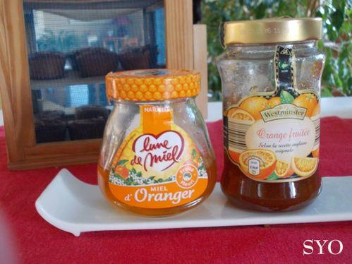 Miel et marmelade orange-Mamigoz
