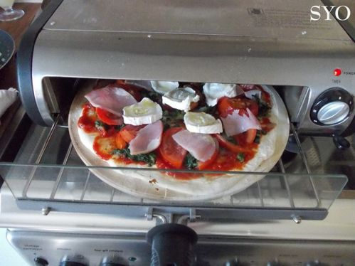 Pizza aux orties tomate bacon chevre-Mamigoz (4)