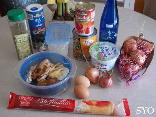 Tarte petits légumes poulet fumé 1 Mamigoz