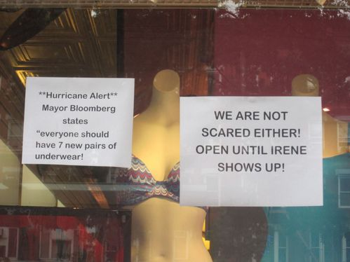 Hurricane underwear