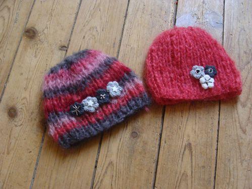 des bonnets pour les nuls en tricot le blog de karo. Black Bedroom Furniture Sets. Home Design Ideas